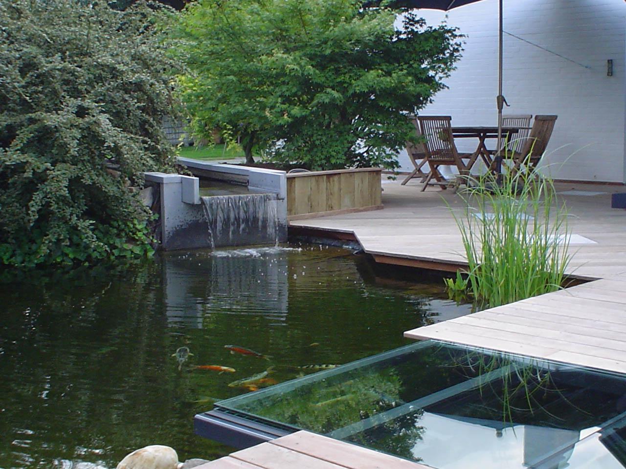 Création d\'étangs